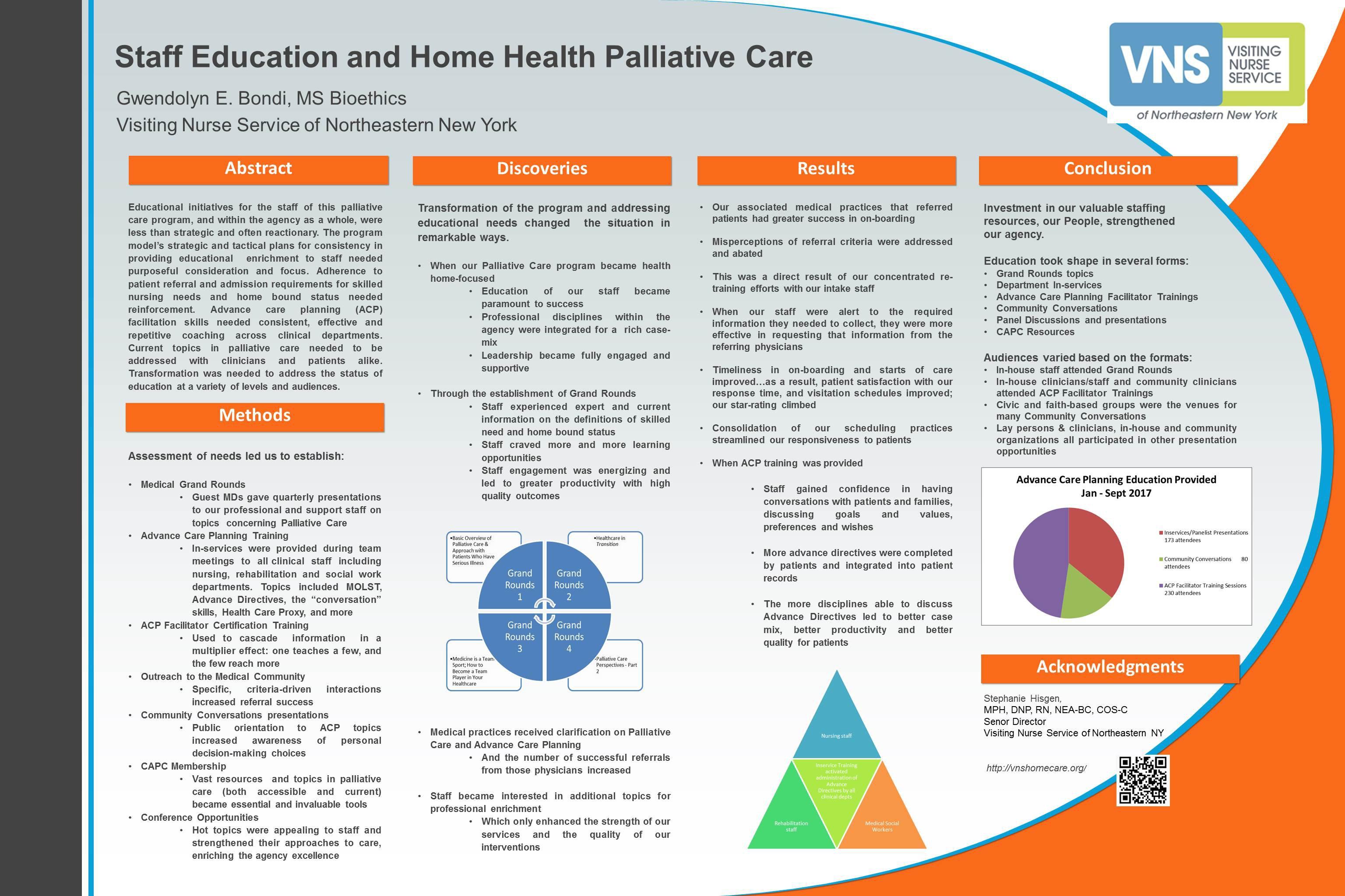 Visiting Nurse Service of NE NY_Staff Education  Home Health Palliative Care BEST 36x24 G.jpg