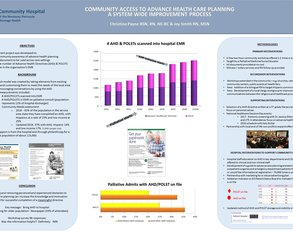 Community Access to Advance Healthcare Planning - Poster Image