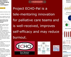 Project ECHO in Palliative Care: Bridging Gaps in Provider Education and Support - Poster Image