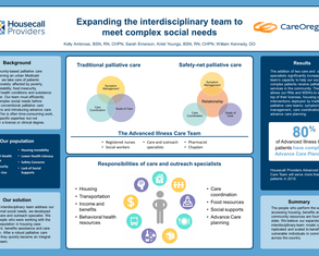 Expanding the Interdisciplinary Team to Address Complex Social Needs - Poster Image