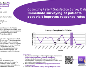 I Can't Get No Satisfaction Data: Trials and Tribulations of Obtaining Satisfaction Data - Poster Image