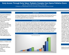 Early Access Through Early Value: Pediatric Complex Care Opens Palliative Doors - Poster Image