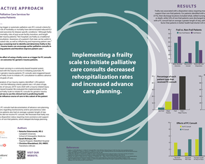 A Proactive Approach to Expand Palliative Care Services for Geriatric Trauma Patients - Poster Image