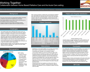 Improved Communication between Home Based Palliative Care and Hospital - Poster Image