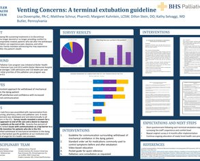 Venting Concerns: A Terminal Extubation Guideline - Poster Image