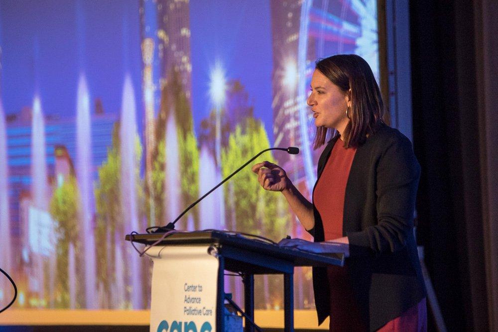 Brynn Bowman speaking at Seminar 2019