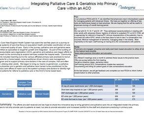 Bringing Palliative Care & Geriatrics to Primary Care - Poster Image