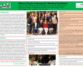 Mercy Doula Training for Medical Students - Poster Image