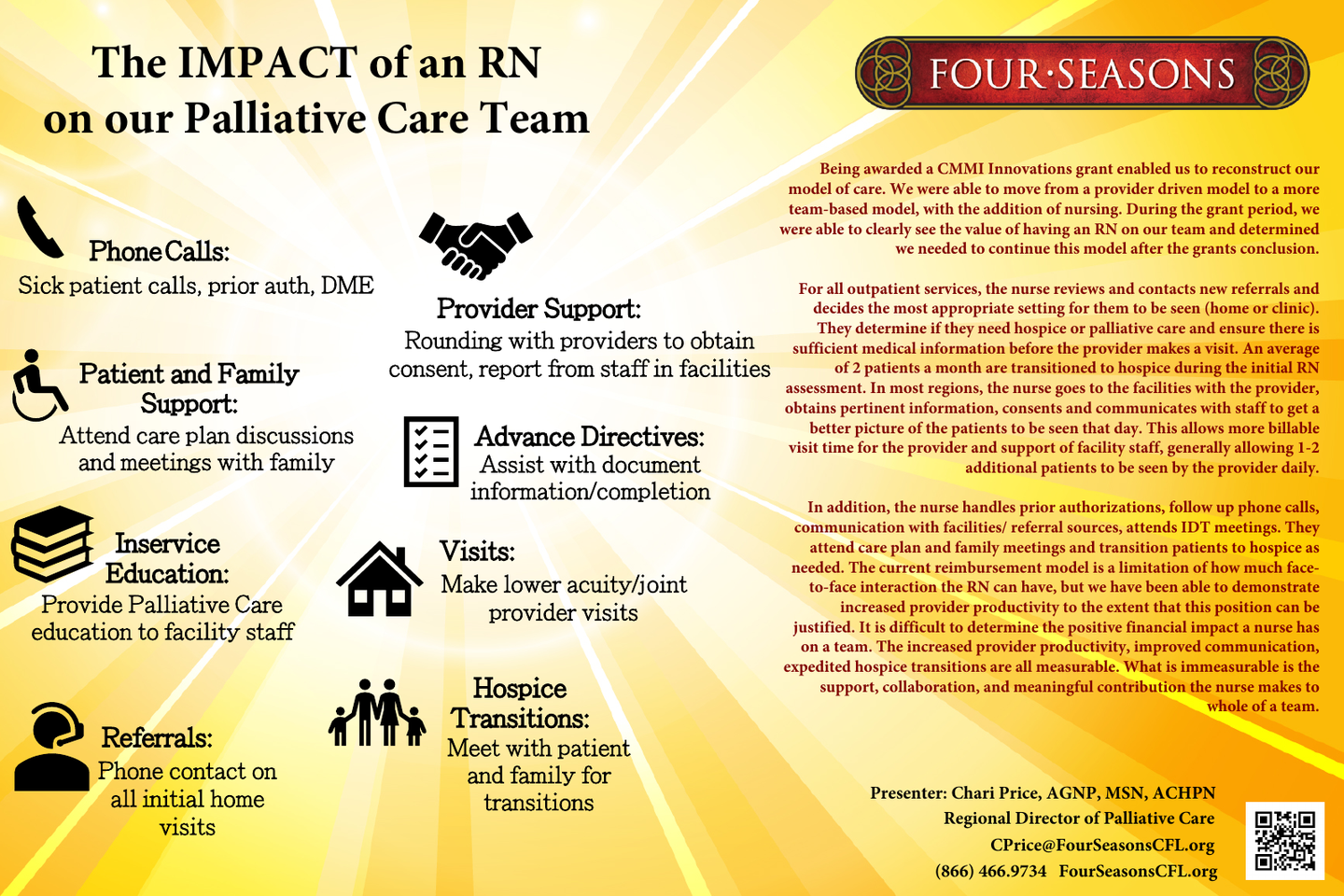 The Role of a Nurse on an Outpatient Palliative Care Team to