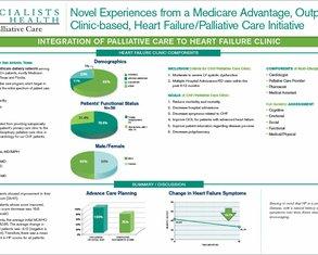 A Medicare Advantage Clinic CHF/Palliative Care Program - Poster Image