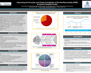 Improving the accurate completion of DNR documentation - Poster Image
