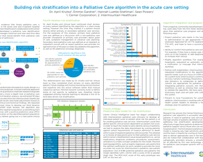 Using Data to Risk Stratify a Palliative Care Population - Poster Image