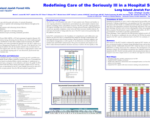 Redefining Care of the Seriously Ill in a Hospital Setting - Poster Image