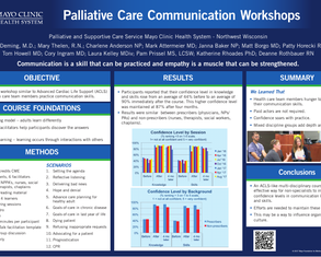 Advanced Palliative Care Skills Course - Poster Image
