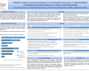 Quality Improvement for Serious Illness Care: Identified Areas of Critical Need in Community-Based Programs - Poster Image