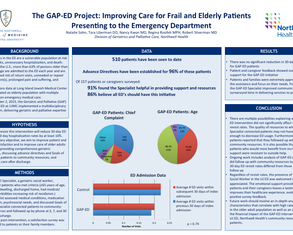 GAP-ED Project: Improving Care for Elderly ED Patients - Poster Image