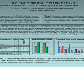 Health Providers' Perspectives on Medical Marijuana Use - Poster Image