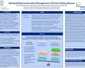 Standardizing Conservative Management of Chronic Kidney Disease - Poster Image