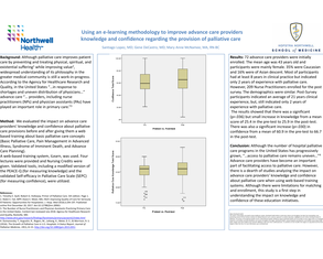 Using an E-Learning Methodology to Improve Advance Care Providers' Knowledge and Confidence Regarding the Provision of Palliative Care - Poster Image