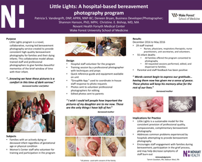 Little Lights: Hospital bereavement photography program - Poster Image