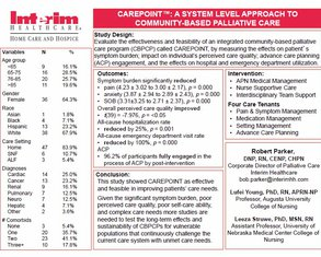 CarePoint™: A System Level Approach to CB Palliative Care - Poster Image