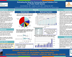 Estimating the Need for CBPC in a Public Health System - Poster Image