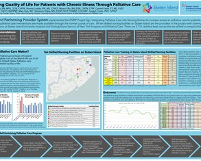 Optimizing Quality of Life for Patients with Chronic Illness Through Palliative Care - Poster Image
