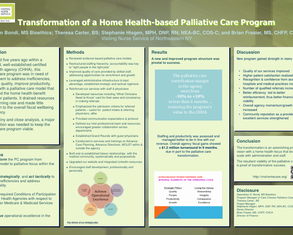 Transformation of a Home Health-based PC Program - Poster Image