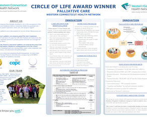 CIrcle of Life Award Winner Palliative Care Western Connecticut Health Network - Poster Image