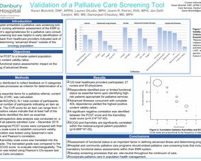 Validation Palliative Care Screening Tool - Poster Image