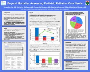 Beyond Mortality: Assessing Pediatric Palliative Needs - Poster Image