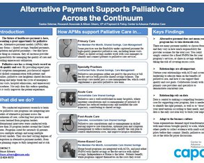 Alternative Payment for Palliative Care Across Settings - Poster Image
