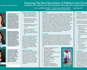 Preparing the Next Generation: Creation of a Palliative Care Fellowship - Poster Image