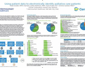 Using Patient Data to Electronically Identify PC Patients - Poster Image