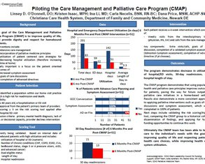 Piloting the Care Management and Palliative Care Program - Poster Image