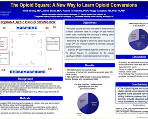 The 'Opioid Square': A New Way to Learn Opioid Conversions - Poster Image