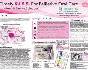 Palliating the Palate: Making Oral Care a Vital Sign - Poster Image