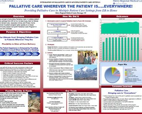 Palliative Care Wherever the Patient Is....Everywhere! - Poster Image