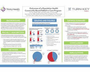 Outcomes of a Population Health Community-Based Palliative Care Program - Poster Image